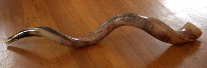 Jemenittisk sjofar av kuduhorn