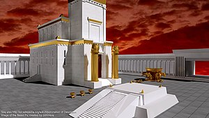 English: jerusalem temple, solomon's temple, t...