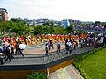 Jingmei Girls' Senior High School Marching Band in Taipei International Flora Expo Closeing Parade 20110425c.jpg
