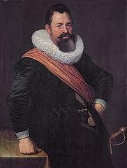 Portrait of Jochem Hendricksz Swartenhont (1566-1627)