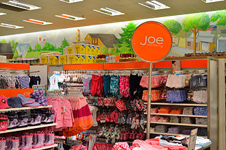 Joe Fresh - Inside a Joe Fresh store.