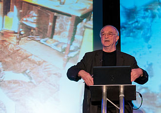 Joe Nickell - Joe Nickell at QED Con 2012 with photo of alleged Spontaneous Human Combustion