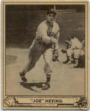 Joe Heving - Image: Joe Heving card