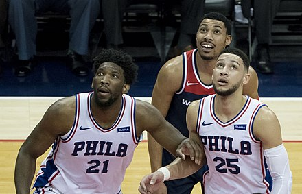 Joel Embiid and Ben Simmons are considered to be centerpieces of the Sixers  future. cc728271e