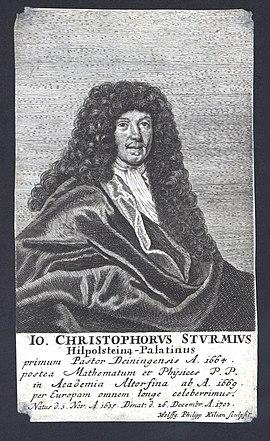 Johann Christoph Sturm