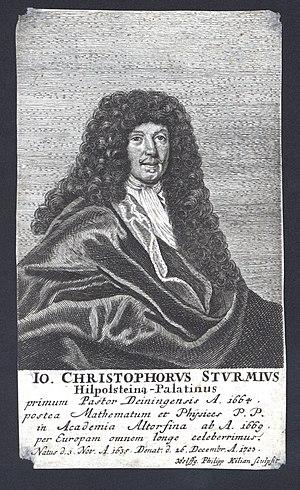 Hilpoltstein - Johann Christoph Sturm