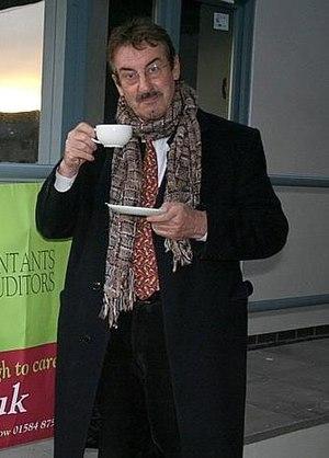 John Challis - Challis pictured in Shrewsbury, November 2007.