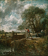 """John Constable, English - Sketch for """"A Boat Passing a Lock"""" - Google Art Project.jpg"""