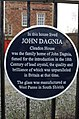 John Dagnia, Cleadon House - Blue Plaque 01.jpg