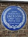 John Hughlings Jackson (1835-1911) physician lived here.jpg