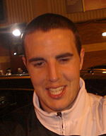 John O'Shea, after Barca match - 29th of April 2008.jpg