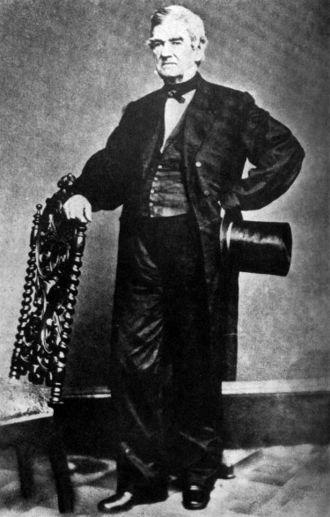 John Ross (Cherokee chief) - John Ross in suit with top hat.