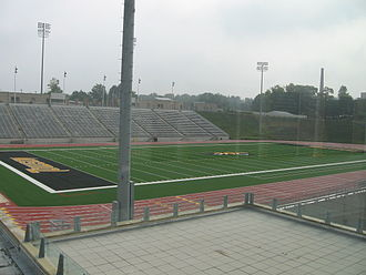 Towson Tigers football - Johnny Unitas Stadium