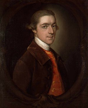 John Spencer, 1st Earl Spencer - The Earl Spencer, by Thomas Gainsborough