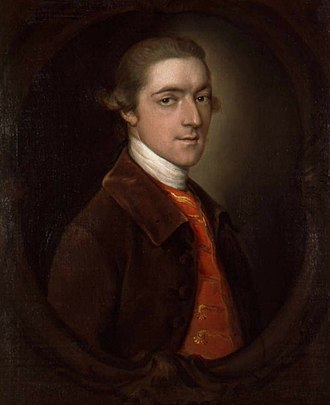 Spencer family - John Spencer, 1st Earl Spencer, by Thomas Gainsborough
