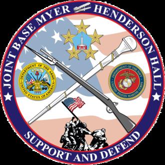 Joint Base Myer–Henderson Hall - Joint Base Myer–Henderson Hall logo