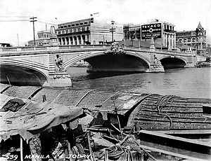 Jones Bridge over the Pasig River, Manila, Philippines, c1930s.jpg
