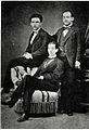José Martí retrato junto a Eusebio y Fermín Valdés en Madrid 1872.jpg
