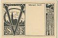 Josef Sattler, Vogesenclub, carte postale 1897.jpg