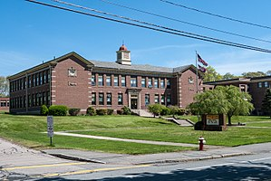 Swansea, Massachusetts - Joseph Case Junior High School, Main Street