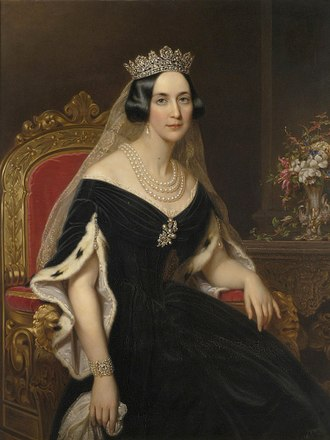 Josephine of Leuchtenberg - Portrait by Axel Nordgren