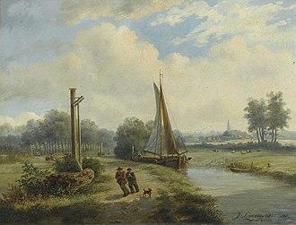 Jozef Linnig - The Breda Canal
