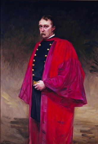 John Shaw Billings - Portrait in the National Library of Medicine by Cecilia Beaux 1895.