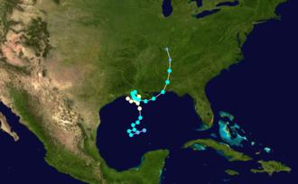 Hurricane Juan (1985) - Image: Juan 1985 track