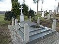 Judrėnų kapinės, Dariaus tėvų kapas.JPG
