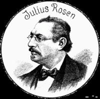 Julius Rosen 1893 Der Floh (Unsere einstigen Mitarbeiter).png