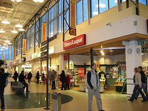 Jumbo shopping centre - Image: Jumbo Shopping Mall of Helsinki Flickr anantal (8)