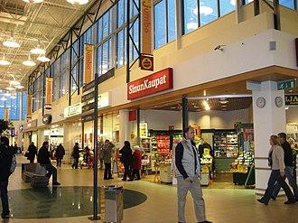 Jumbo shopping centre - Image: Jumbo Shopping Mall of Helsinki Flickr anantal (8)