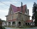 Körner's Folly, a home built by Jule Gilmer Körner, labelled by many of his neighbors as the strangest home in America, Kernersville, North Carolina LCCN2011635590.tif