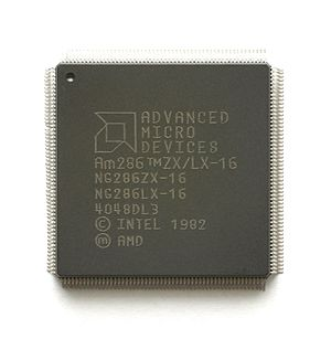 System on a chip - AMD Am286ZX/LX, SoC based on 80286