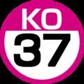 KO-37 station number.png
