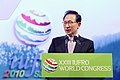 KOCIS President Lee at the IUFRO congress (4947569948).jpg