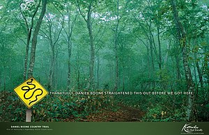 Francis Cleetus - Print Ad for Kentucky Tourism.