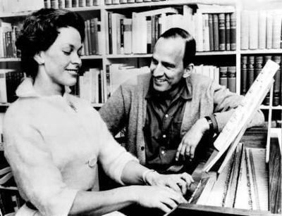 Bergman's relationship with his wife Kabi Laretei influenced the film, which is dedicated to her. Kabi-Laretei-Ingmar-Bergman.jpg