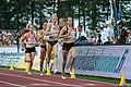 Kalevan Kisat 2018 - Women's 800 m - Saija Seppä, Jonna Julin, Sara Kuivisto, Aino Paunonen.jpg
