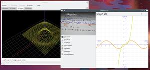 KAlgebra - Image: Kalgebra main screenshot