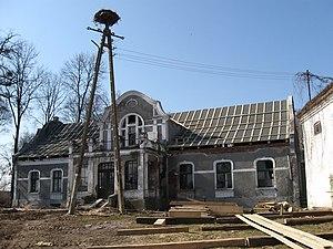 Kalis, Poland - Dwór in Kalis