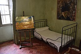 kamer van vincent van gogh in saint paul de mausole