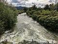 Kamniska Bistrica River at Dol pri Ljubljani, near it's confluence with the Sava River.jpg