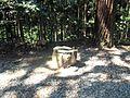 Kanameishi key-stone of Kashima Amatarashiwake-jinja shrine.JPG