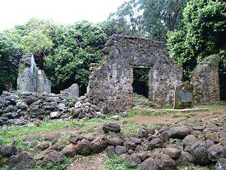 Kaniakapupu - Ruins of Kaniakapūpū, 2015