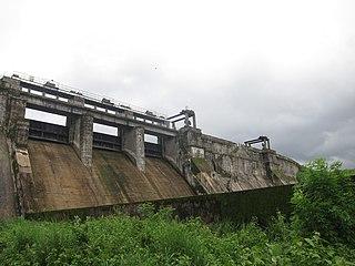 Kanjirapuzha Dam dam in India