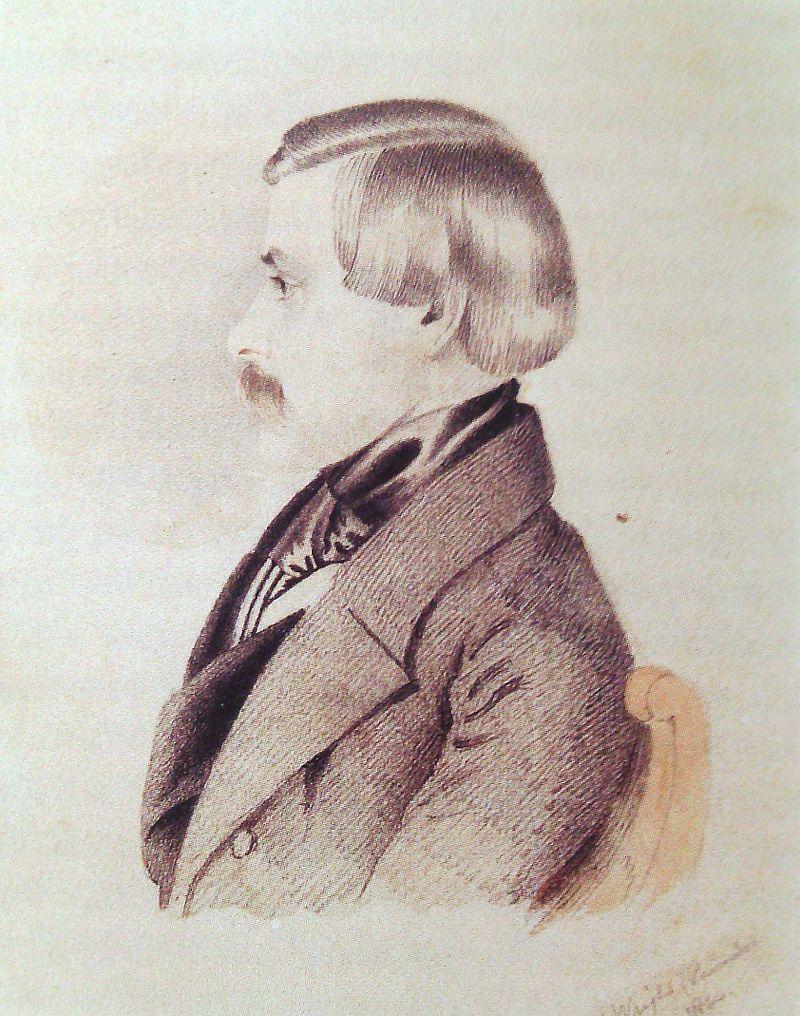 Художник Томас Райт (1844)