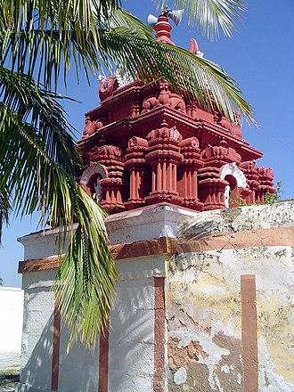 Karighatta temple - The temple at the top of the hill