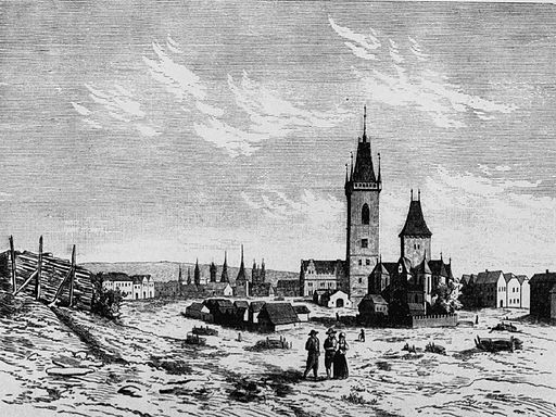 Karlovo namesti in XVIth Century