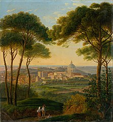 View of an Italian City